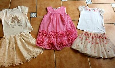 W@W MustSee* Mayoral Three Summer Outffits* Lace TwirlSkirt&Top *Flower Dress 6y