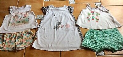 MustSee Designer * Mayoral * Three Cute Summer Outfits * Dress * Shorts * Top 8y