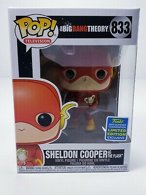 Funko Pop | Sheldon Cooper as Flash | Big Bang Theory Shared SDCC 2019 In Hand