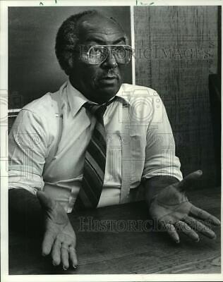 1984 Press Photo Arthur Clay, minister and civil rights activist from Kenner