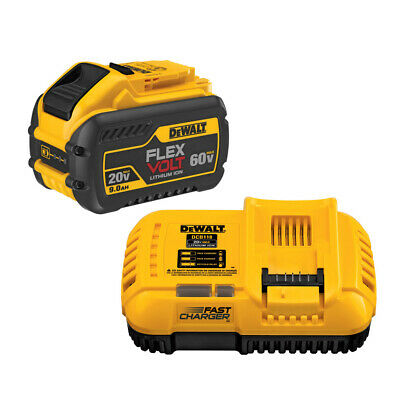 DeWalt DCB118X1 20V / 60V MAX Charger & Battery Combo Kit