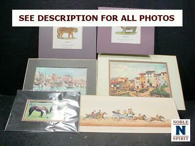 NobleSpirit  NO RESERVE (3970) 6x Mixed Art Collection