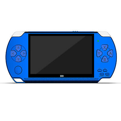 8GB Handheld PSP Game Player Built-in Games 4.3'' Portable Consoles NEW GLT