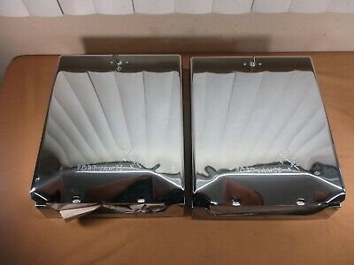 Paper Towel Dispensers Service Stations  Paper Towels Set of 2 with Towels