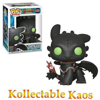 How to Train Your Dragon 3: The Hidden World - Toothless Pop! Vinyl Figure #686