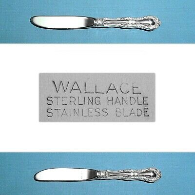 Wallace Sterling Butter Spreader(S) (Wallace) ~ Irving / Old Atlanta ~ No Mono