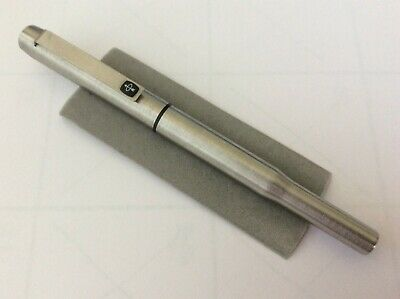 Parker 25, C 1980'S. Stainless Steel With Back Trim. Stainless Steel Medium Nib.