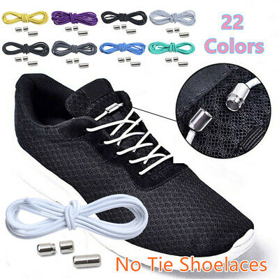 for Kids Adult Quick Lazy Laces Elastic Lock Sneakers Shoelace No Tie Shoelaces