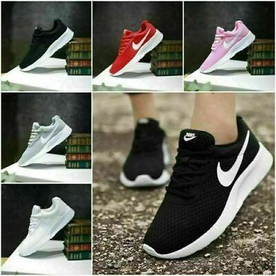 Uk Mens Womens Pumps Trainers Lace Up Mesh Sports Running Casual Shoes Size Uk