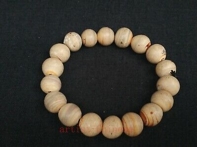 Unique Collection Old Chinese Pretty Glaze Bead Bracelet Decoration Gift