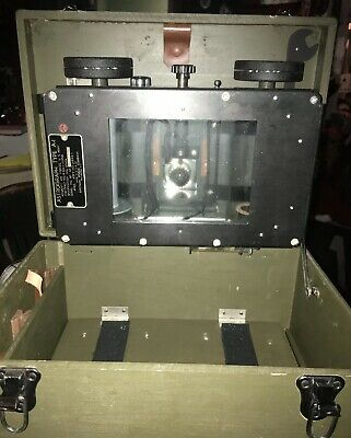 WW2 US Army Air Corp Type A-1 Bombardiers Astrograph With Case Kodak Navigation