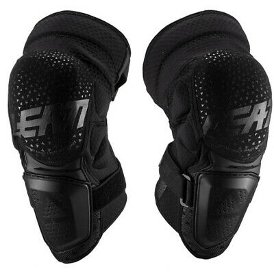 Leatt 3Df Hybrid Black Knee Guards