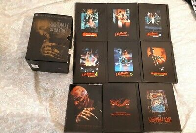 Nightmare On Elm Street DVD Collection INCLUDES FREDDYS DEAD 3D RARE US REGION 1