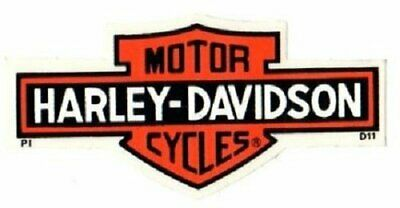 "4-1/4"" Genuine Harley Davidson Long Bar Shield ~ Outside Window Decal Sticker!"