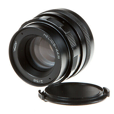 M42 Fit - Helios-44M 58Mm F2 Prime Lens & Caps - Very Good Condition