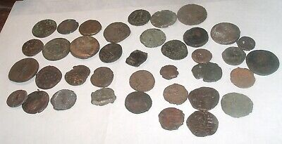 Mixed Lot Ancient Roman Copper Coins ( 38) Unresearched , Authentic