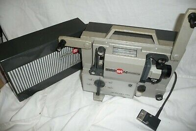 Cine film projector EUMIG MARK M super 8  + lead & CD information.... BG
