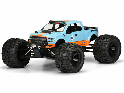 Pro-Line 2017 Ford F-150 Raptor Clear Bodyshell for 1/8th Truck #PL3468-00