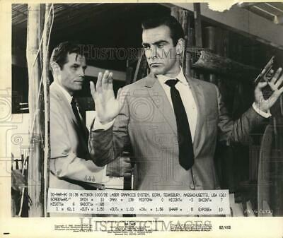 """1962 Press Photo Sean Connery stars as James Bond in """"Dr. No"""" - tup19950"""