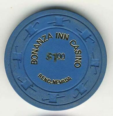 Bonanza Inn Casino Reno NV $1 Chip 1973