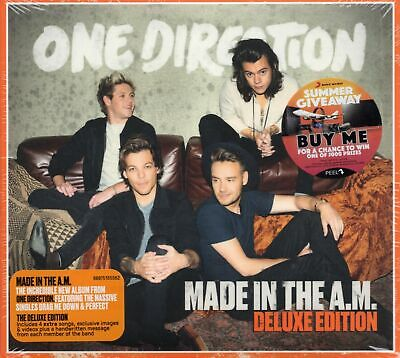One Direction - Made In The AM (Australia Deluxe Edition 4 Extra Tracks) 2015 CD