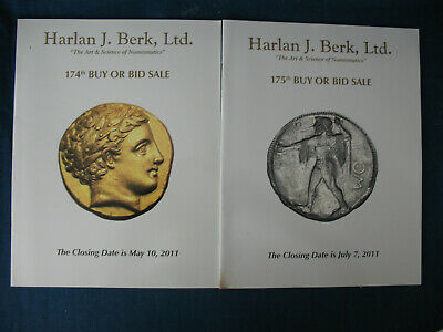 Harlan Berk Catalogs Ancient, Medieval Coins and Relics 14 issues