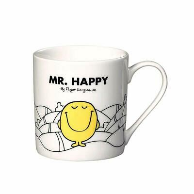 Mr Men Mr Happy  White Mug Bone China Gift Boxed