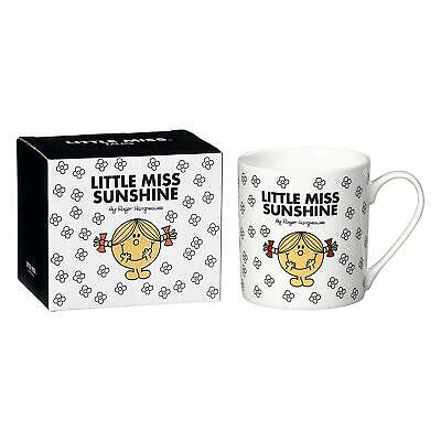 Mr Men Little Miss Sunshine  White Mug Bone China Gift Boxed