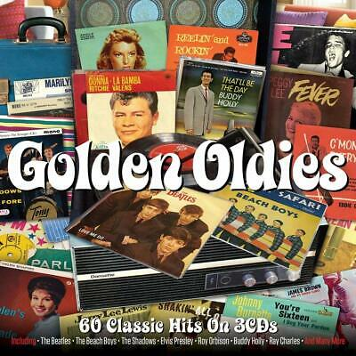 Golden Oldies VARIOUS Best Of 60 Classic Songs ESSENTIAL COLLECTION New 3 CD