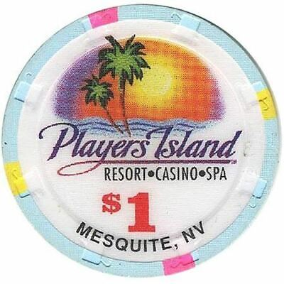 Player's Island Casino Mesquite NV $1 Chip 1995