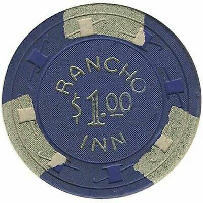 Rancho Inn Casino Las Vegas NV $1 Chip 1955