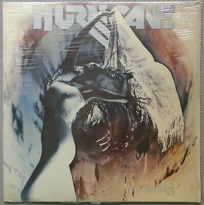 HURRICANE / FOREIGNER 'Over The Edge' 1988 Greek vinyl LP - STILL SEALED