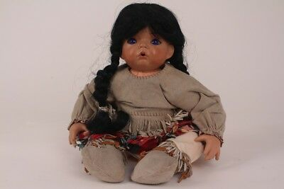 Aaron by Dianna Effner 1991 Artistic Doll Porcelain Doll Collectable Doll Indian