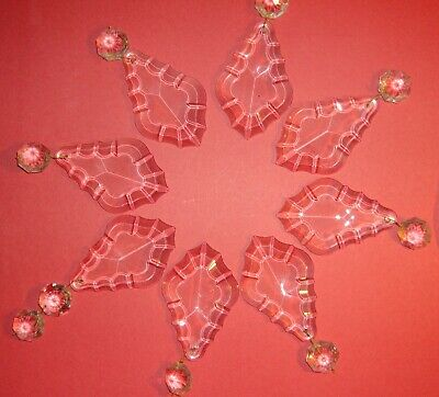 Glass Chandelier Pendalogue Prisms for Crafting Decorating Christmas #2