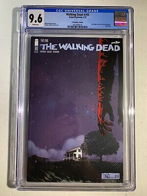 The Walking Dead #193 (2019 Skeybound Image) SDCC Variant 1st Print CGC 9.6