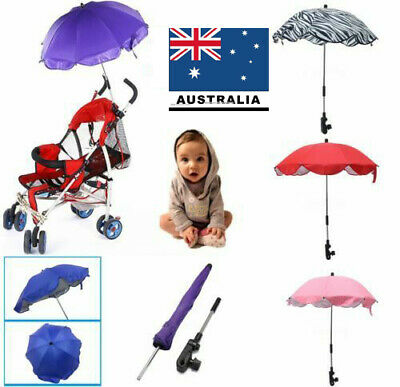 Universal Baby Parasol Pram Pushchair Stroller Buggy UV Umbrella Sun Shade Kids*