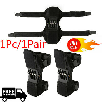 Power Lift Knee Stabilizer Pads Powerful Rebound Spring Force Support Knee Pad~