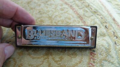 Bluesband in Key of C Hohner Harmonica  Shows Little to No Wear