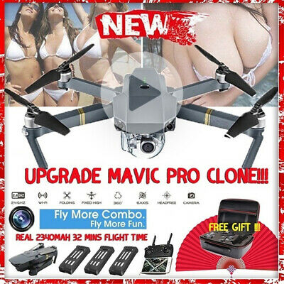 Dji Mavic Pro Drone Clone Selfi WIFI With 1080P HD Camera Foldable RC Quadcopter