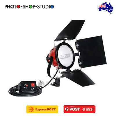 AU *Fotolux RDG-800A 800W Red Head Spotlight with Dimmer