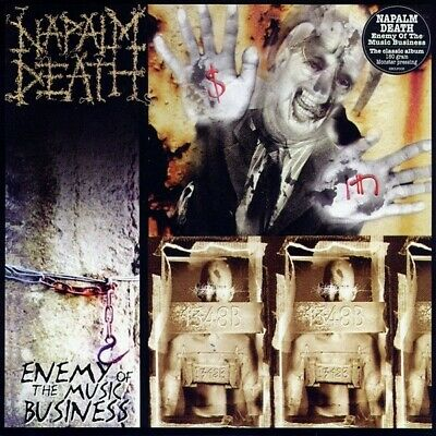 NAPALM DEATH - Enemy Of The Music Business LP