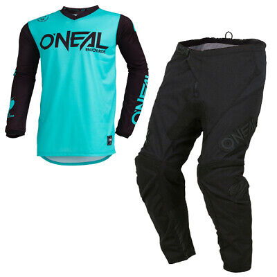 Oneal Threat Rider Teal Kit Combo