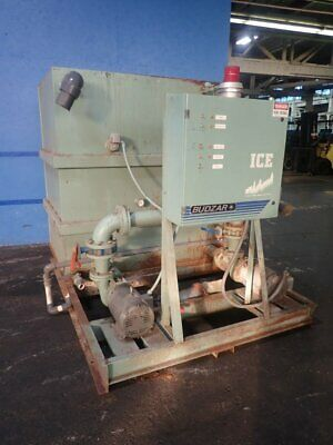 Industrial Chilling Equipment Tts-1005 Coolant Unit (2) 15 Hp 08190150001