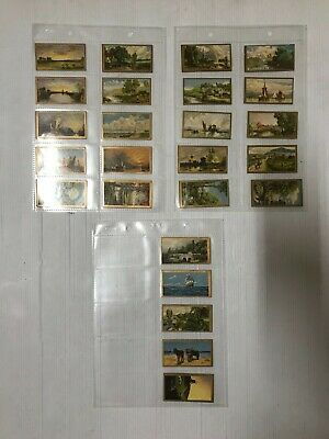 Cigarette Card Set Of 25 Cavanders Issues 1925 Reproductions Of Oil Paintings