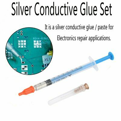 Conductive Silver Glue Wire Electrically Paste Adhesive Paint PCB Repair WQ