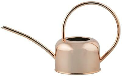 Polished Copper Plated Indoor & Greenhouse Watering Can