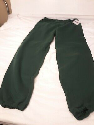 Russell Athletic VTG 90's GREEN Poly Cotton Blend Mens Sweatpants Joggers XL USA