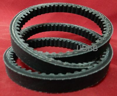 BX62 Belt, BX 62 Cogged V Belt 5/8 x 65 Belt Outside Diameter- USBB AK 2L27