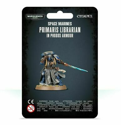 Space Marines Primaris Librarian in Phobos Armour - Warhammer 40k - New! 48-67C