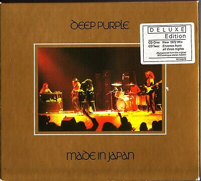 Deep Purple -Made In Japan 2-CD Deluxe Edition (1972 Mix/Encores/Remastered)